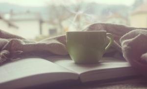 #reading #book #tea #writing