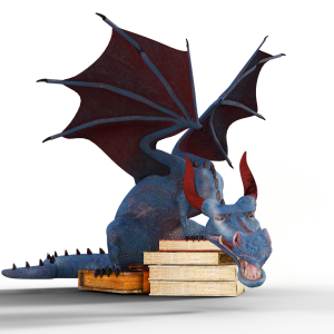 Book dragon ready to fight for #SaveQuickReads
