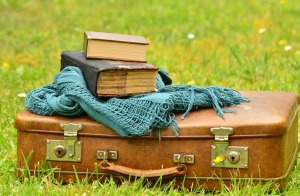 Travelling adventures with books