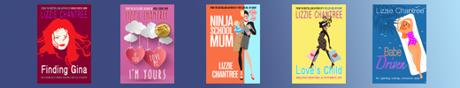 Email signature Flat covers. Lizzie Chantree