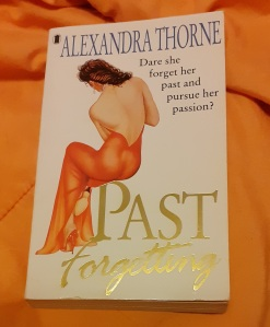 Photo of book Past Forgetting by Alexandra Thorne